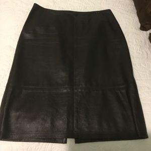 Karen Kane leather skirt